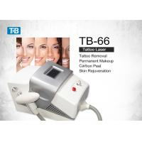 Quality Portable Q Switched Nd Yag Laser Tattoo Removal Machine for Spa / Hospital wholesale