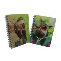 Quality Custom A4/A5/A6 3D Lenticular Notebook For Children CMYK Offset Printing wholesale