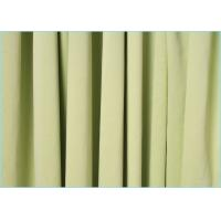 Quality Needle Three Technology Polyester Microfiber Fabric / Durable Plain Dyed Micro Knit Fabric wholesale