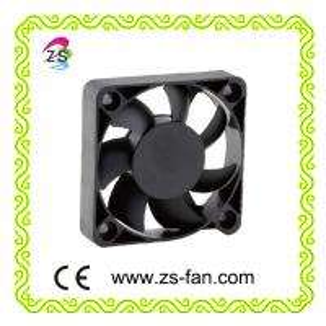 Quality plastic blade radiator fan 5012 DC fan, small box fan 50*50*12mm cooling fan wholesale