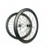 Quality Hand - Built Carbon Racing Bike Wheels 50MM Road Disc 700C Racing Cycling wholesale