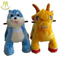 Quality Hansel import from china amusement park games plush motorized riding animals wholesale