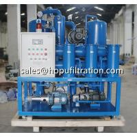 China China Transformer oil purifier Price,transformer oil filtering machines, double stage vacuum transformer oil dehydration on sale