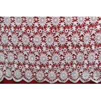 Quality Apparel Accessories Chemical Lace Fabric  Water Soluble Embroidery  lace fabric wholesale