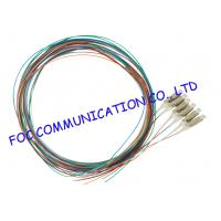 Quality 12 Colors Fiber Optic Pigtail multimode LC UPC For ODF and Patch Panel wholesale