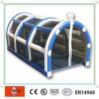 Quality Large Inflatable Batting Cages Kits For Indoor Or Outdoor Baseball Games wholesale