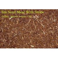 Quality Tea Seed Meal/Powder with Straw wholesale