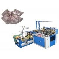 Quality High Speed Plastic Shoes Cover Making Machine 150-170 Pcs / Min wholesale