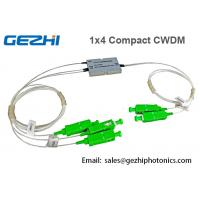 Quality 1x4 CH Optical CCWDM Mux / Demux Module in Passive Optical Network wholesale