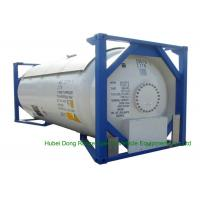 Quality UN Portable T50 Type ISO 20ft Tank Container For LPG / DME Transportation wholesale
