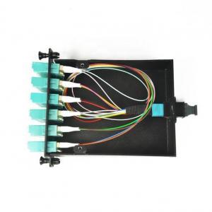 Quality MPO Fiber Optic Patch Cord Module 12 Cores Multimode 50/125 OM3 OM4 LGX Box wholesale