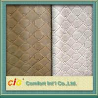 Quality 0.7mm Waterproof Synthetic Fake Leather Material Embossed For Bag wholesale