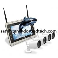 Quality Wireless Home Video Surveillance System Wifi IP Cameras & NVR with 11 Inch Screen wholesale