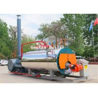 Quality Clothing Industry Gas Steam Boiler Fire Tube Structure Horizontal Style wholesale