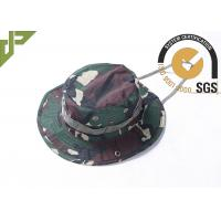 Quality Outdoor Boonie Army Tactical Cap Philippine Army Camo Mesh For Hunting wholesale