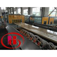 China High Precision WPC Board Production Line Double Screw Extruder For Door Panel on sale