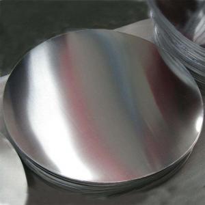 Quality Deep Drawing Aluminium Round Metal Circles , Temper O Aluminum Circle Blanks wholesale