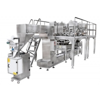 China 100P/M 300g Automatic Bag Packaging Machine For Food on sale