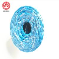 Quality 100% Virgin PP Banana Twine , Colorful PP Packing Rope Twisted UV Treated wholesale