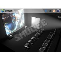 Quality High Class Hydraulic / Servo Motor 5D 7D 9D Theater System With True Adventures wholesale