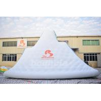 Quality Giant Inflatable Floating Iceberg , Water Climbing Wall For Ocean wholesale