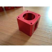 Quality High-precision Red Color Anodized CNC Machining Aluminum Industrial Parts wholesale