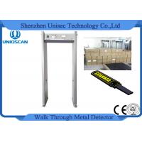 Quality 8KHZ Indoor 6 Zones Walk Through Metal Detector with LED display wholesale