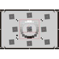 Cheap SineImage ISO 12233:2014 E-SFR test charts in inkjet format 3:2 / 16:9 Reflective 1X,2X,4X for sale