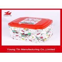 Quality Hello Kitty CMYK Printed Tin Boxes Container Gifts Packaging Metal Tinplate Custom wholesale