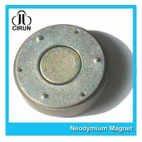 Quality Small Thin Custom Neodymium Magnets , Strong Round Flat Ndfeb Magnet wholesale