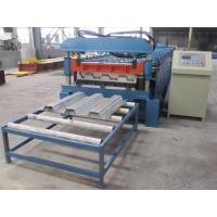 Quality Misubishi PLC Automatic Floor Decking Roll Making Machine with CE Certificate wholesale