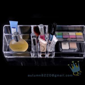 Quality acrylic cosmetic organizer drawer wholesale