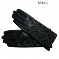 Quality Ladies sheep genuine leather gloves high level SM026 lady leather glove wholesale
