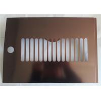 Quality Construction Polished Aluminum Sheet Metal High Reflective Rate Aerospace Application wholesale