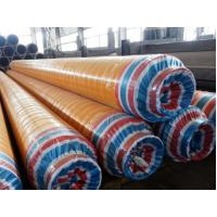 Quality DN15 - DN2000 Insulated Steel Pipe Yellow Jacket High Density Polyurethane Insulated Pipeline For Oil / Gas / Air wholesale