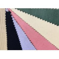 Quality Colorful Spandex Stretch Corduroy Fabric Material 6w 8w 9w 11w wholesale