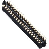 Quality WCON Female 1.27 Mm Pin Header Dual Row SMT Pin Header 1.0AMP wholesale