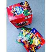 Quality Super heroes powder candy with poker healthy and funny wholesale