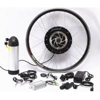 China Complete Front Wheel Ebike Conversion Kit E Bicycle Conversion Kit Anti - Corrosion Motor on sale