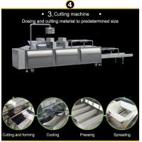 China Groundnut Brittle Cereal Bar Cutting Machine / Snack Food Making Machine on sale