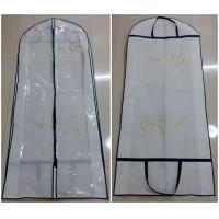 Non Woven Handle Long Hanging Clothes Garment Bags Collapsible Silk Screen Printing