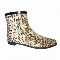Buy cheap Women's fashionable rubber rain boots from wholesalers