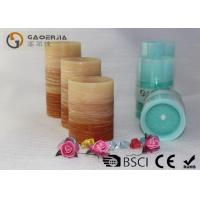 Quality Flat Top Flameless Led Candles With Remote Control Gradient Ramp Color wholesale