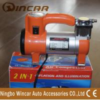 Quality Single Cylinder Tire Inflator Air compressor / portable air pump for car wholesale