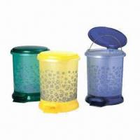 Quality Trash Bins, Customized Logos and Designs are Accepted, Made of PP, OEM Orders are Welcome wholesale