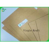 China Food Grade Box Board Brown Roll Kraft Craft Paper Sheet 130gr to 350gr Virgin Pulp on sale