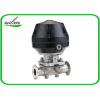Quality Professional Hygienic Diaphragm Actuator Valve Mushroom Valves Spring Return / Double Acting wholesale