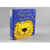 Quality Childish Flocking Hardcover Children'S Books For Learning Cognitive Puzzle wholesale