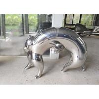 Quality Interior Abstract Metal Animal Sculptures Modern Typed For Home Decor wholesale