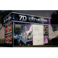 Quality Mobile Design 7D Cinema System Removable Cabin High Definition wholesale